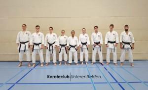 SKISF-Trainer Rikuta Koga zu Besuch beim Karateclub Unterentfelden