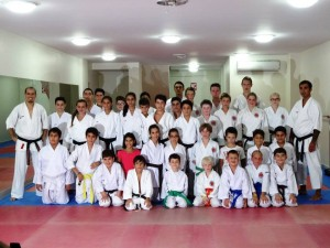 Training mit Karateclub Manavgat (2)