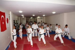 Training mit Karateclub Manavgat (5)