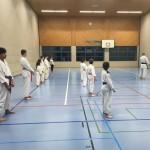 Training Karateclub Unterentfelden