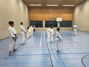 Training Karateclub Unterentfelden