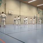 Training Karateclub Unterentfelden 2