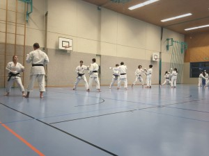 Training Karateclub Unterentfelden 2