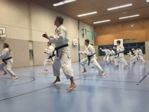 Training Karateclub Unterentfelden 3