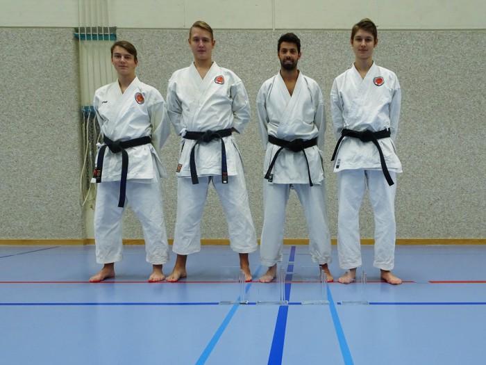 Karateclub Unterentfelden erfolgreich bei der SKISF-Schweizermeisterschaft 2018