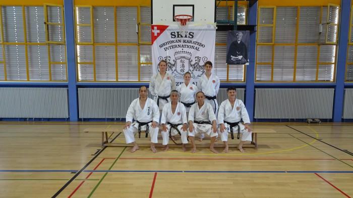 SKISF Karatelager Losone 2019