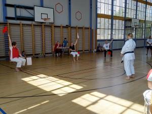 SKISF Karatelager Losone 2019_Prüfung Stefanie 2