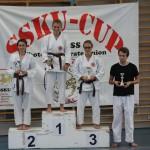 Siegerehrung am SSKU-Cup 5