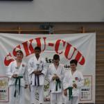 Siegerehrung am SSKU-Cup 8
